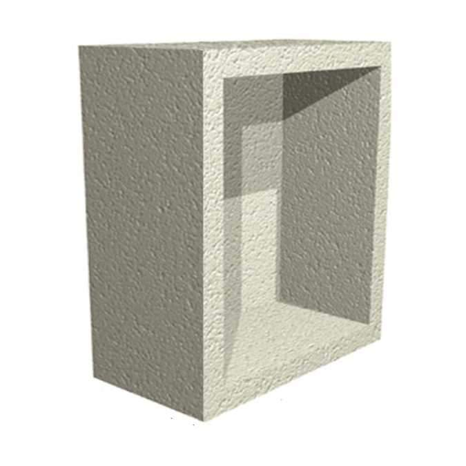 Tileable Recessed Waterproof Storage Unit - 35 x 24 x 18cm EMSU-05-0015