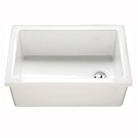 RAK Laboratory 3 Ceramic Belfast Kitchen Sink 1.0 Bowl - White