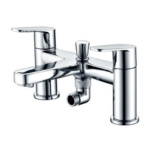 RAK Origin 62 Bath Shower Mixer with Shower Head and Holder - Chrome