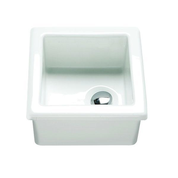 RAK Laboratory 2 Ceramic Belfast Kitchen Sink 1.0 Bowl - White