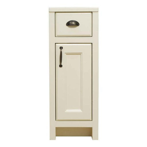 CLEARANCE Cassellie Chartwell 1-Door & 1-Drawer Storage Unit - 300mm Wide - Vanilla