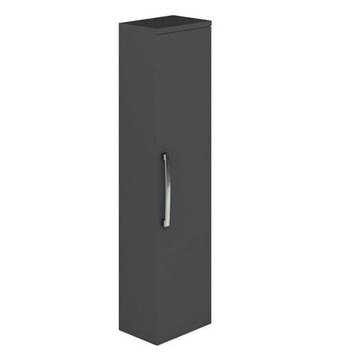 Essential NEVADA Wall Hung Column Unit, 1 Door, 350mm Wide, Grey