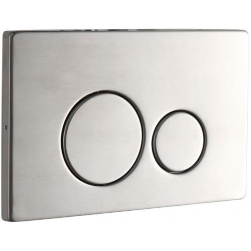 Abacus Easi Plan ISO 2S Stainless Steel Flush Plate