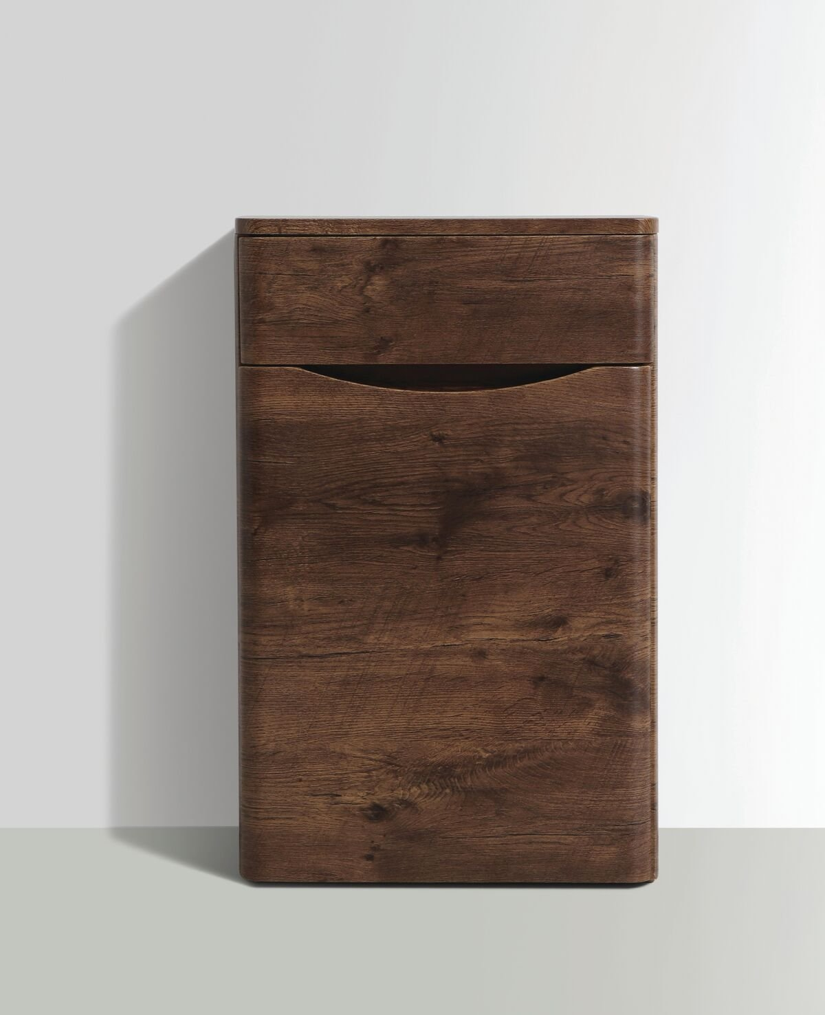 Cassellie Bali WC Unit - 500mm Wide - Chestnut