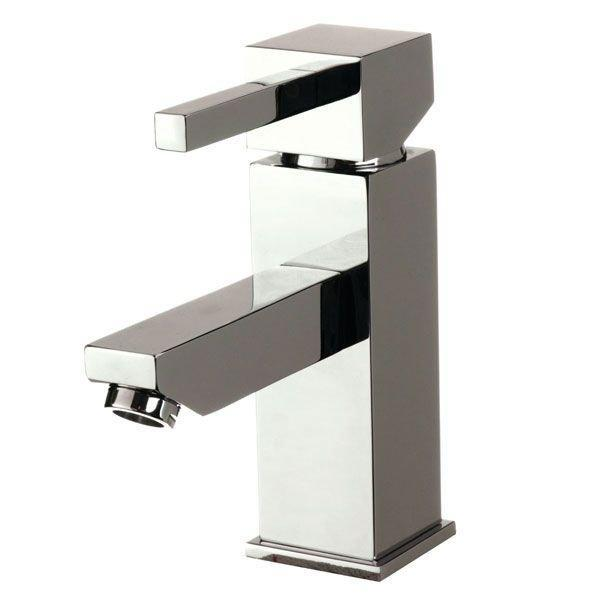 Cassellie Emperor Mono Basin Mixer Tap Deck Mounted with Click Clack Waste - Chrome