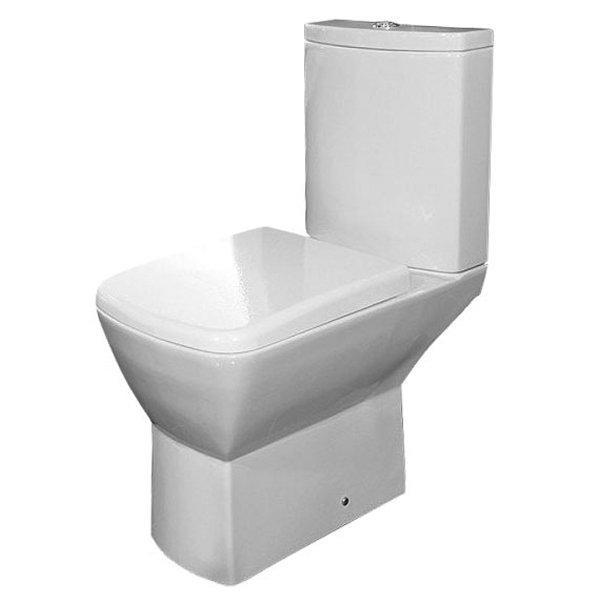 RAK Summit Close Coupled Toilet with Push Button Cistern - Soft Close Seat