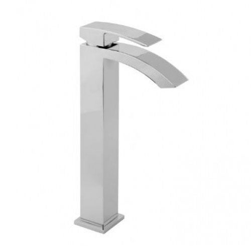 Deva SWO113/EX Chrome Swoop Tall Basin Mixer