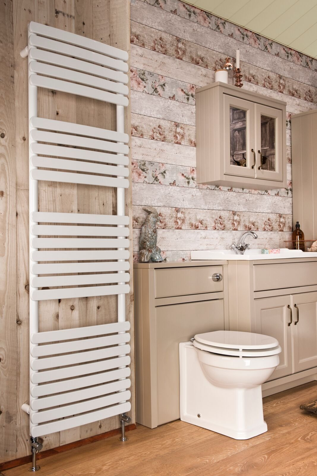 Cassellie Orchid Designer Heated Towel Rail - 1700mm x 500mm - White
