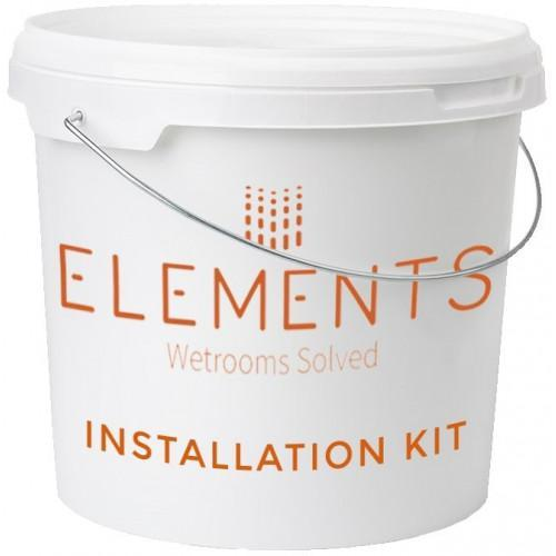 Abacus Elements - Wetroom Tray Install Pack