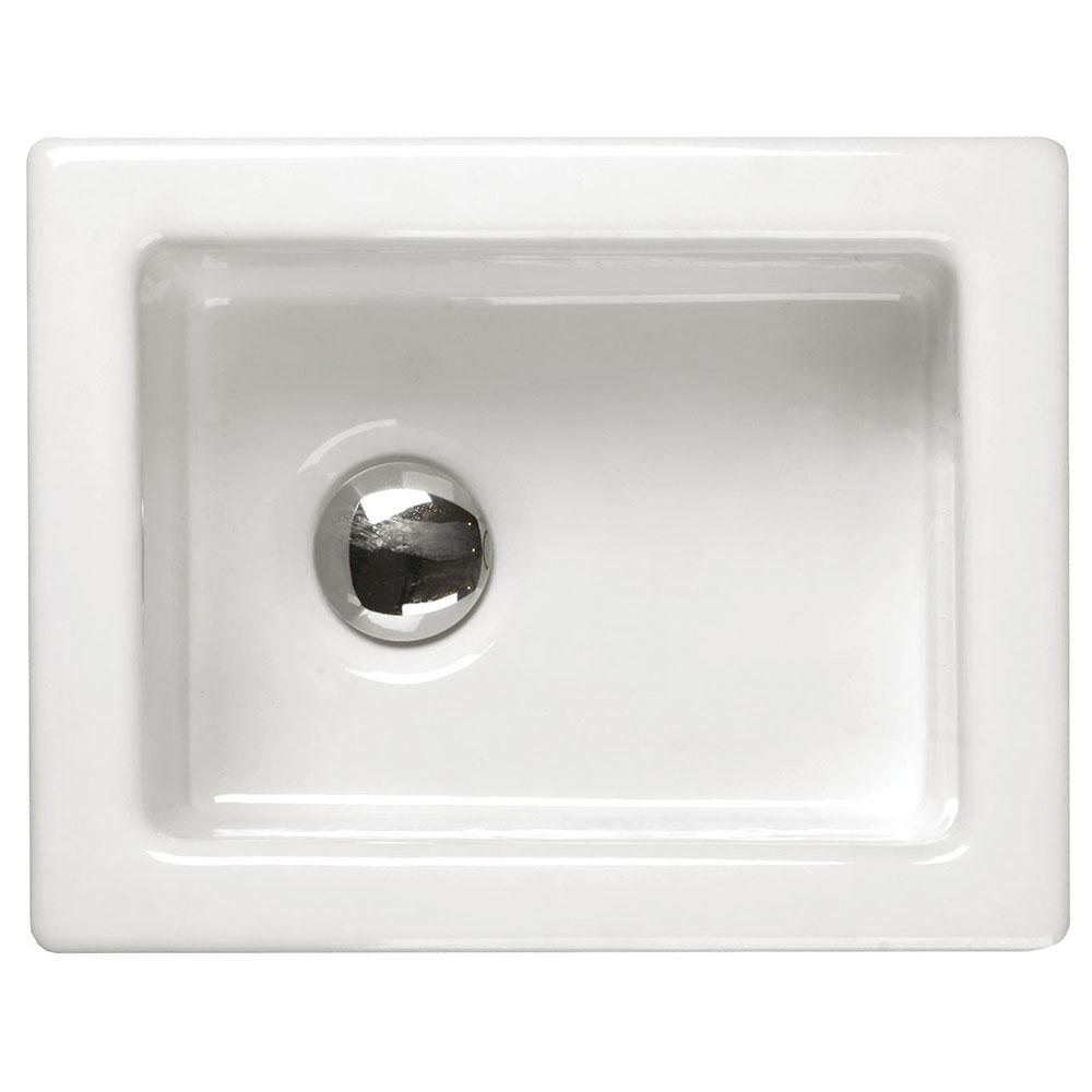 RAK Laboratory 1 Ceramic Belfast Kitchen Sink 1.0 Bowl - White
