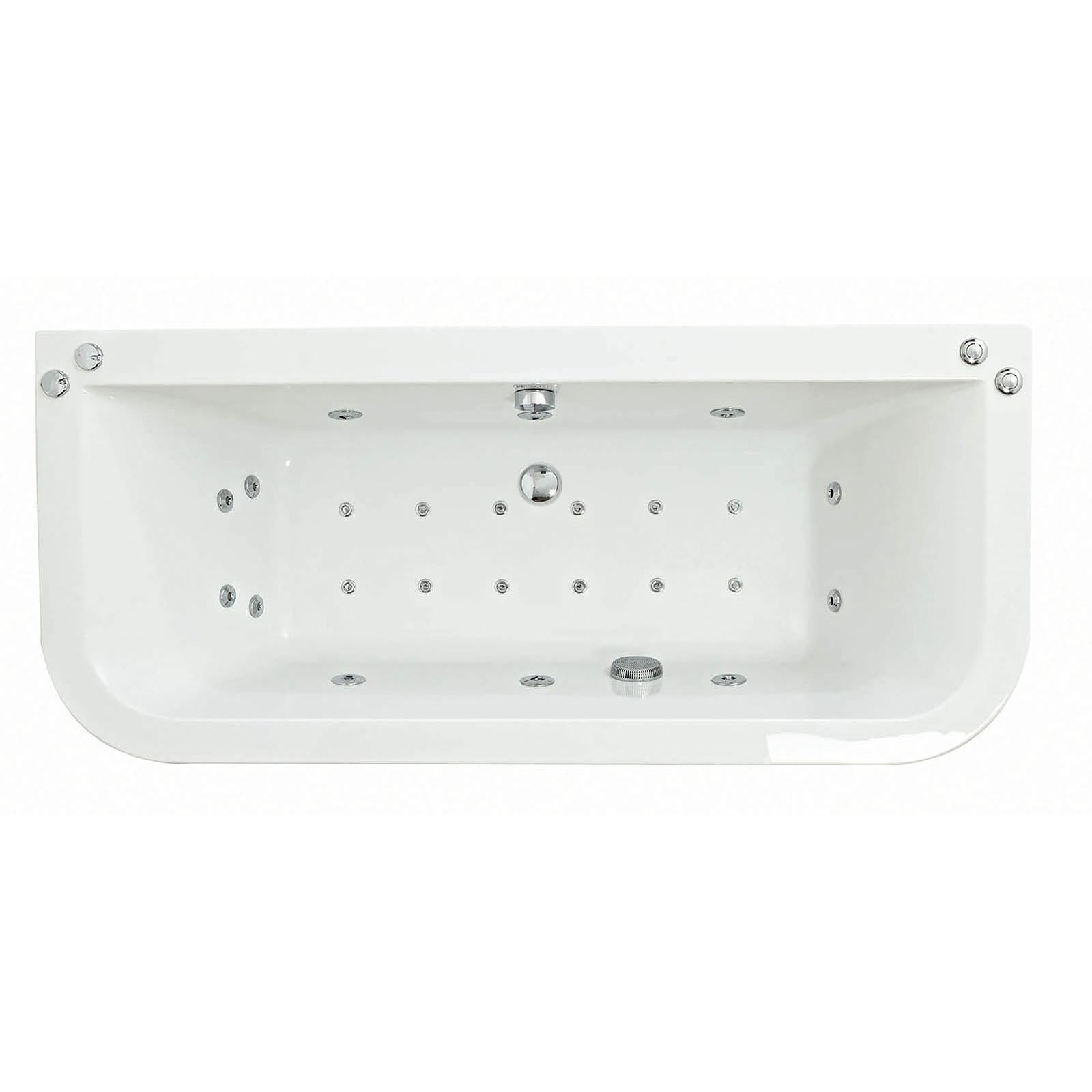 Flush Jaye - Super Strength 1750 x 700 mm Double Ended Whirlpool And ...