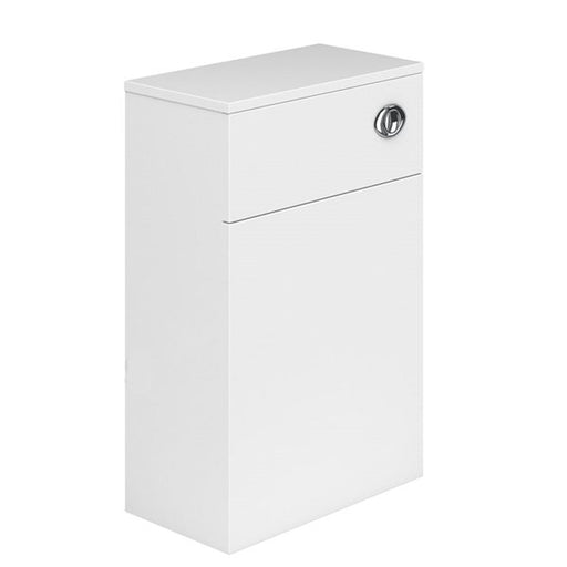 Essential NEVADA WC Unit, 500mm Wide x 200mm Deep, White