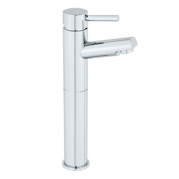 Cassellie Dalton High Rise Mono Basin Mixer Tap - Deck Mounted - Chrome