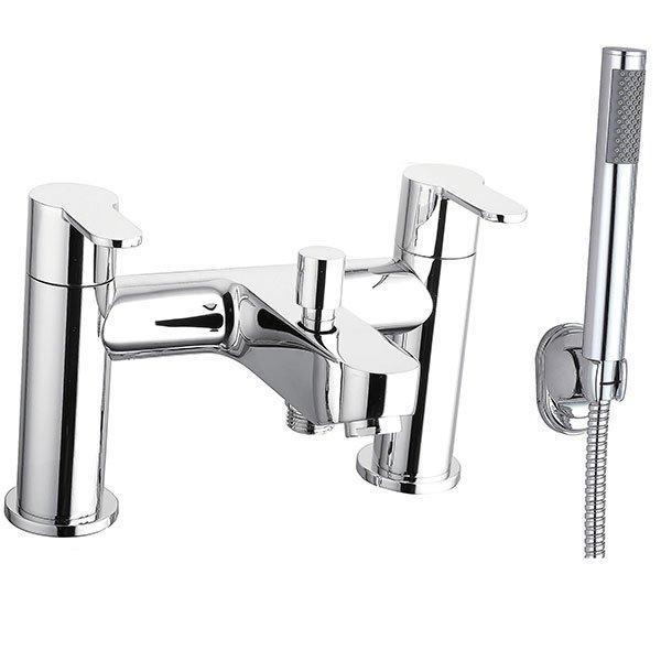 Cassellie Roma Bath Shower Mixer Tap - Chrome