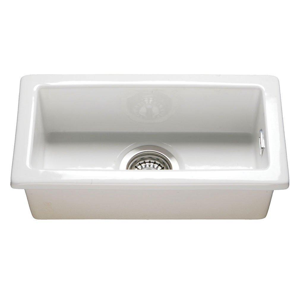 RAK Gourmet 7 Ceramic Belfast Kitchen Sink 1.0 Bowl - White