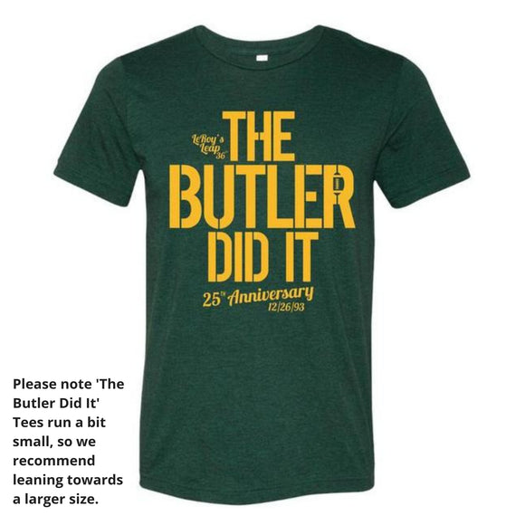 The Butler Did It! - 25th Anniversary Tee Shirt