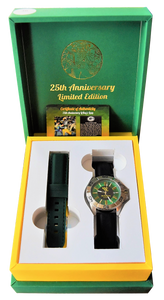 LeRoy Butler's Limited Edition 25th Anniversary 'LEAP' Watch with Free T-Shirt (Limited to 360 Pieces)