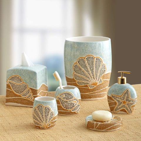 Mosaic Shell Bath Collection