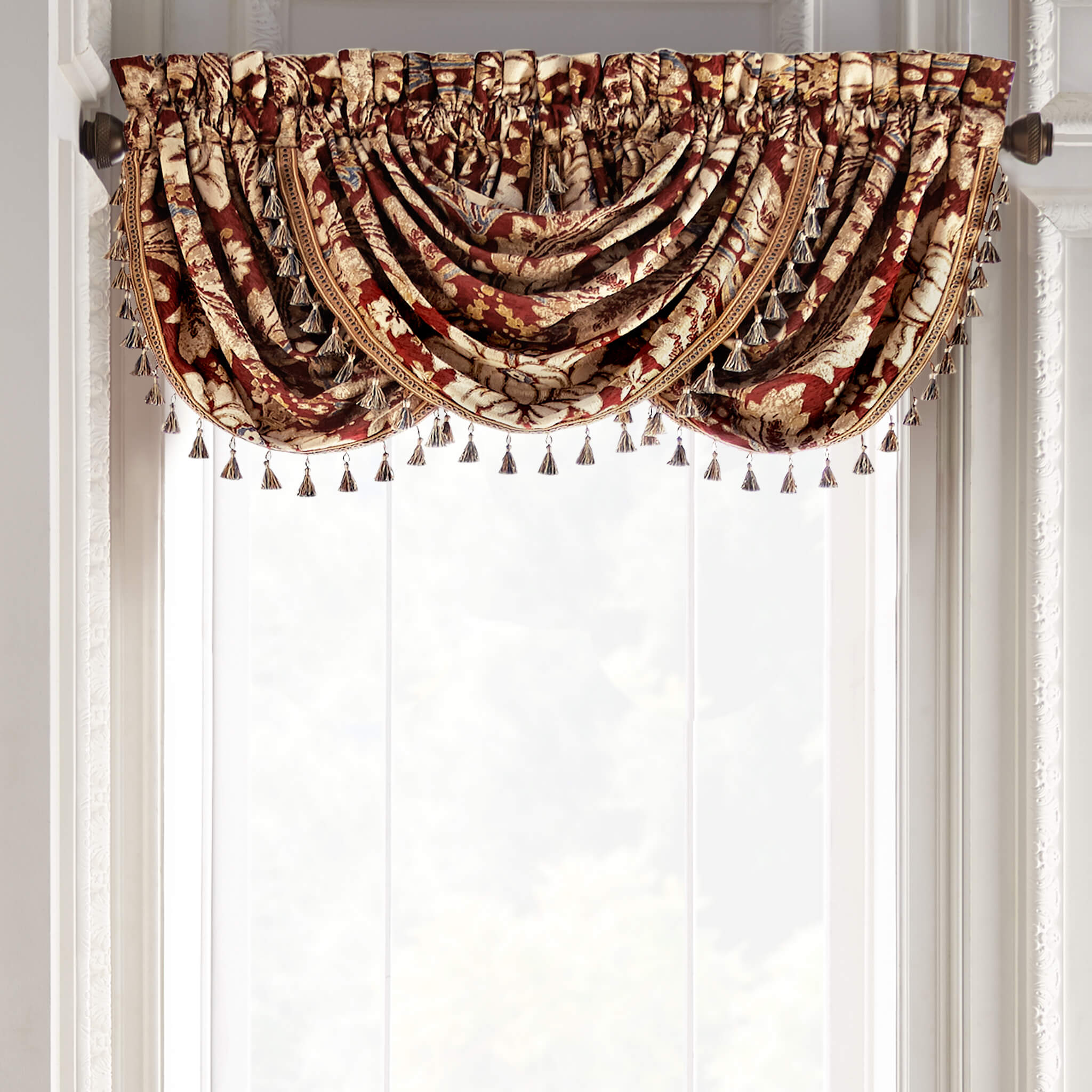 Arden Waterfall Swag Valance