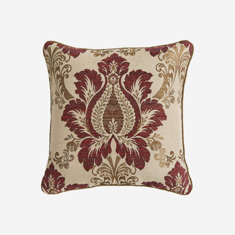 Esmeralda Square Pillow