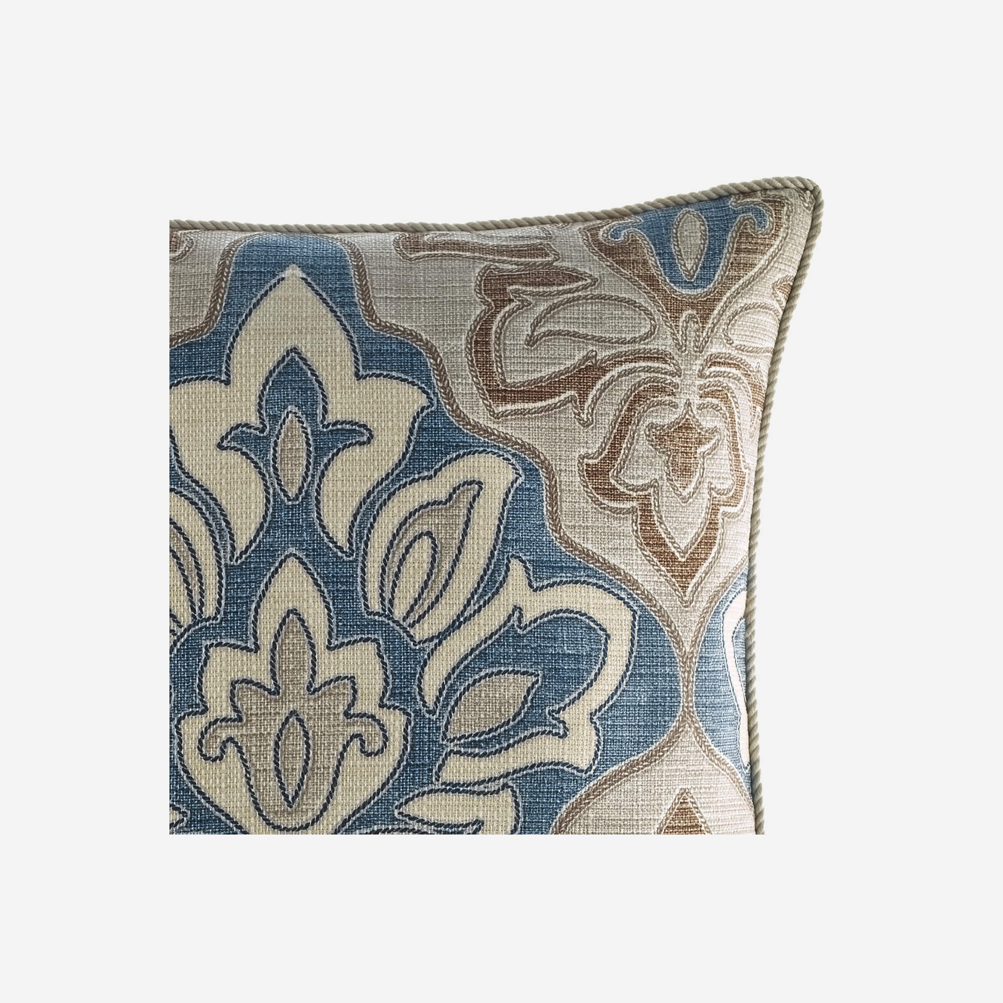 Captains Quarters Square Pillow