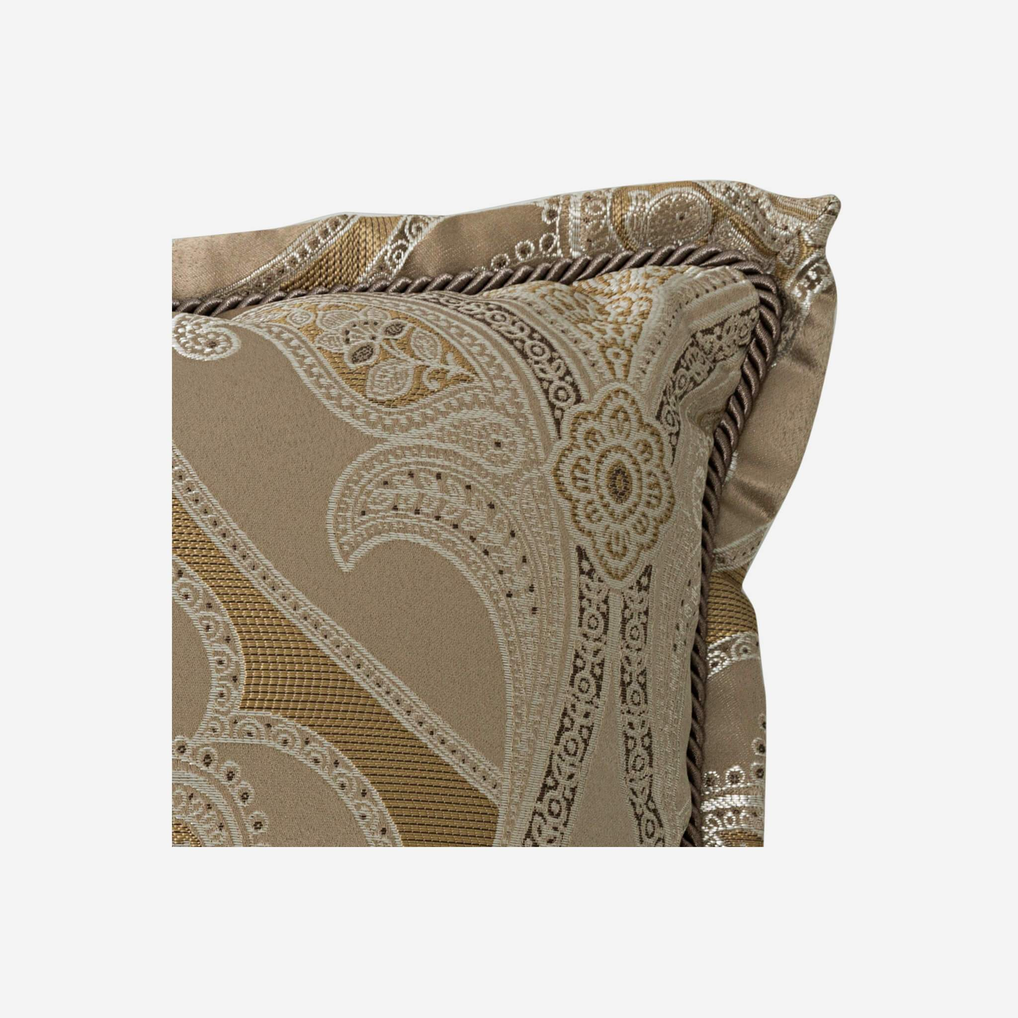 "Alexander 16"" x 16"" Reversible Fashion Pillow - Details"