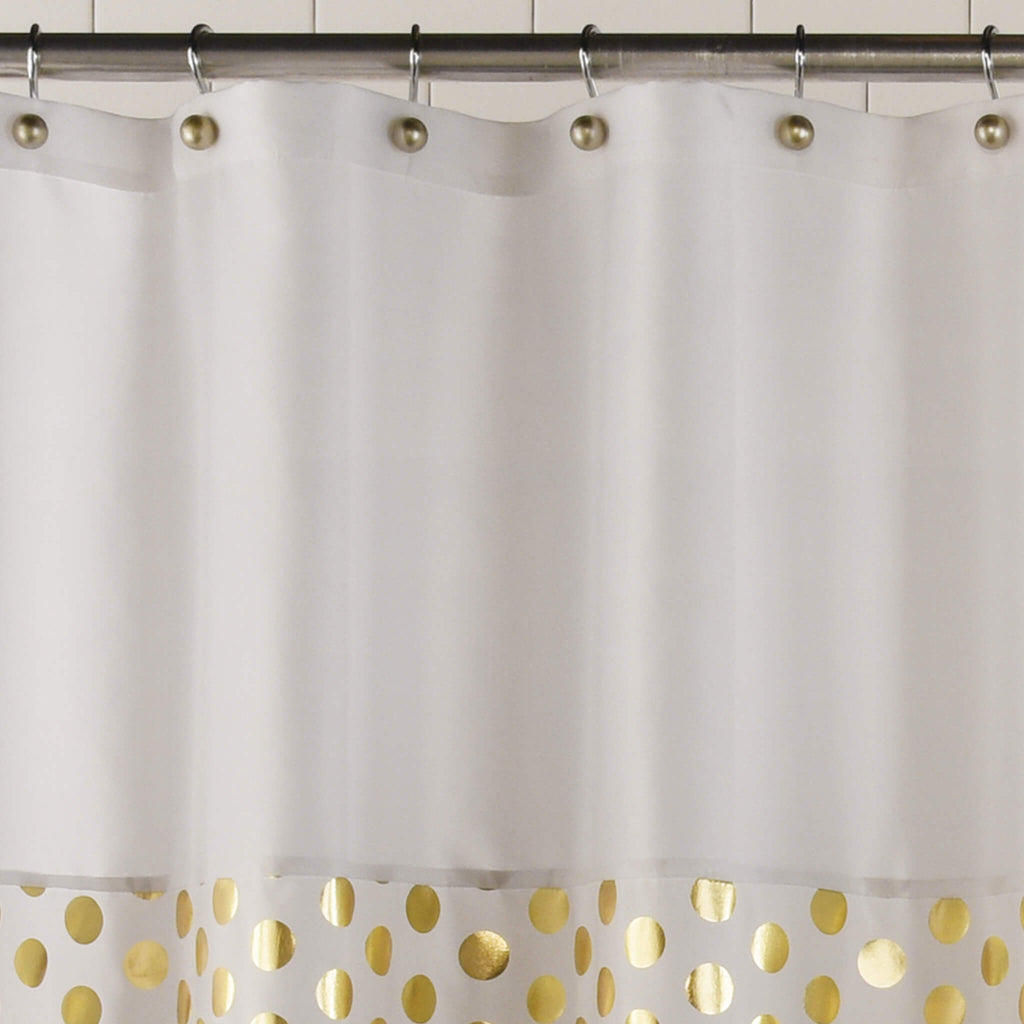Goldie Fabric Shower Curtain by Excell