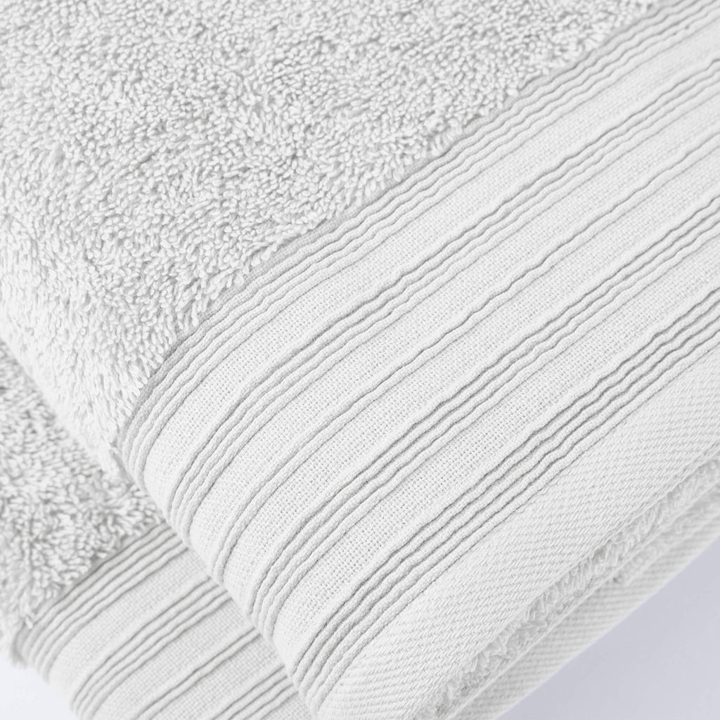 Gramercy 6-Piece Towel Bundle Set White