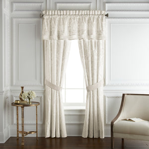 Astrid Double Layered Straight Valance