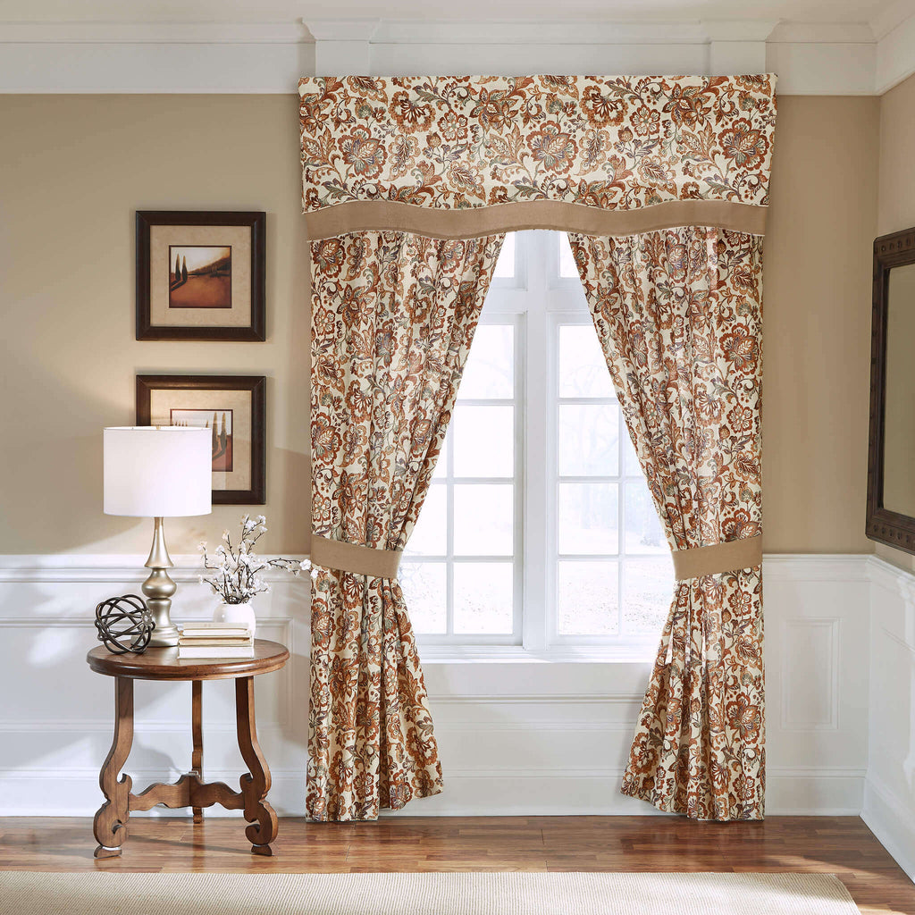 Delilah Scalloped Layered Valance
