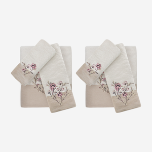 Alene Towel Bundle With Lovely Floral Embroidery