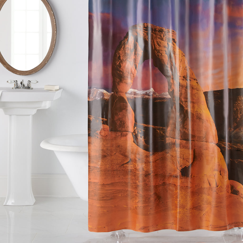 Arches Photoreal PEVA Shower Curtain by Excell