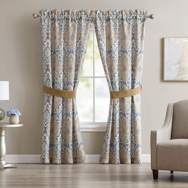 Captains Quarters Curtain Panel Pair