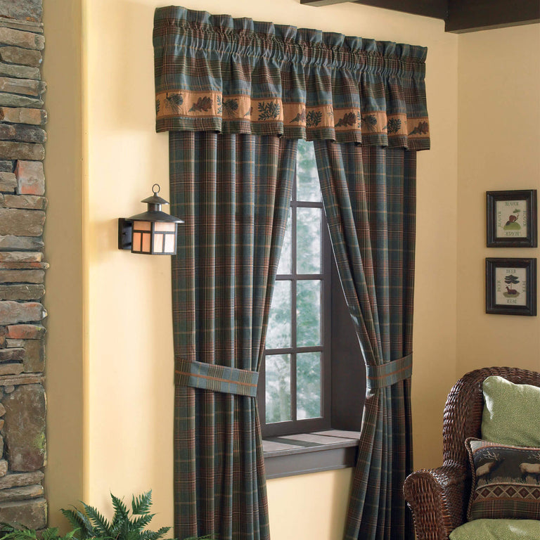 Caribou Curtain Panel Pair
