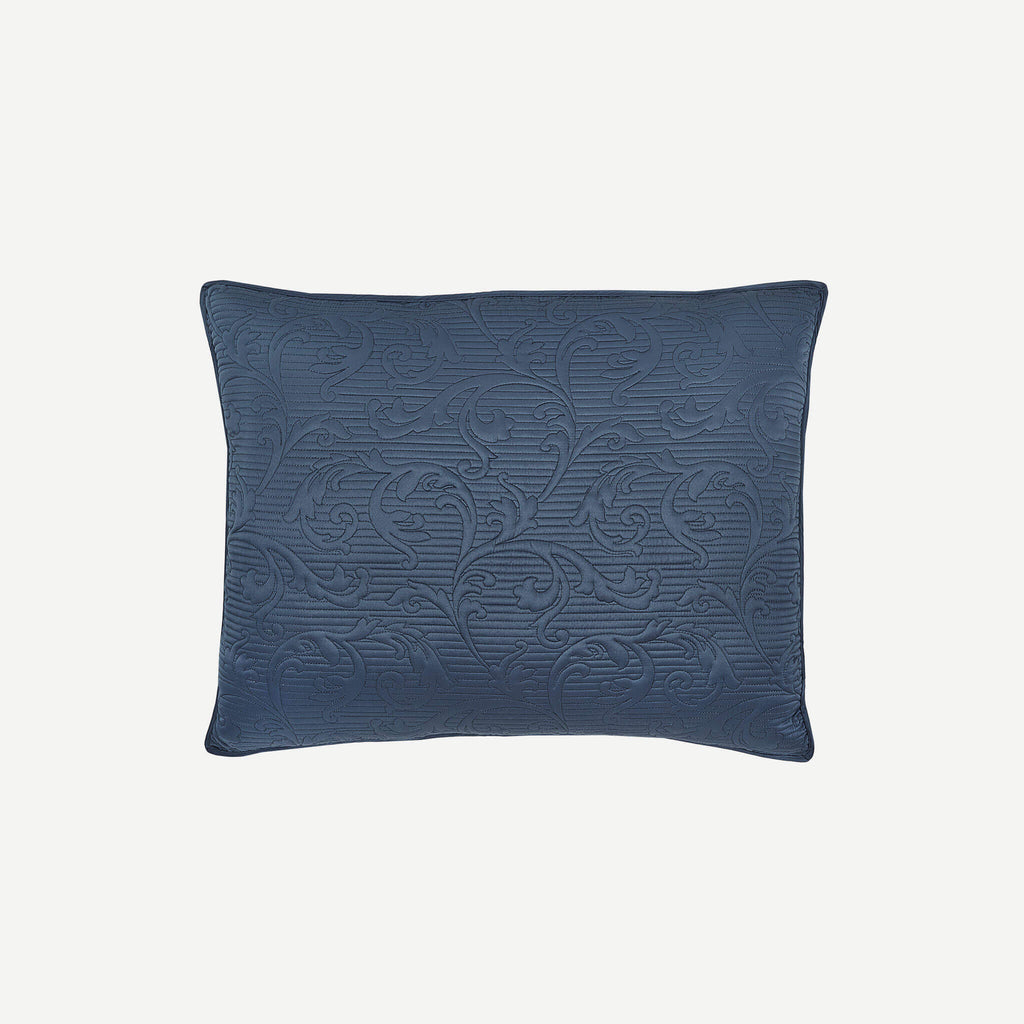 Cosette Dark Blue Pillow Sham
