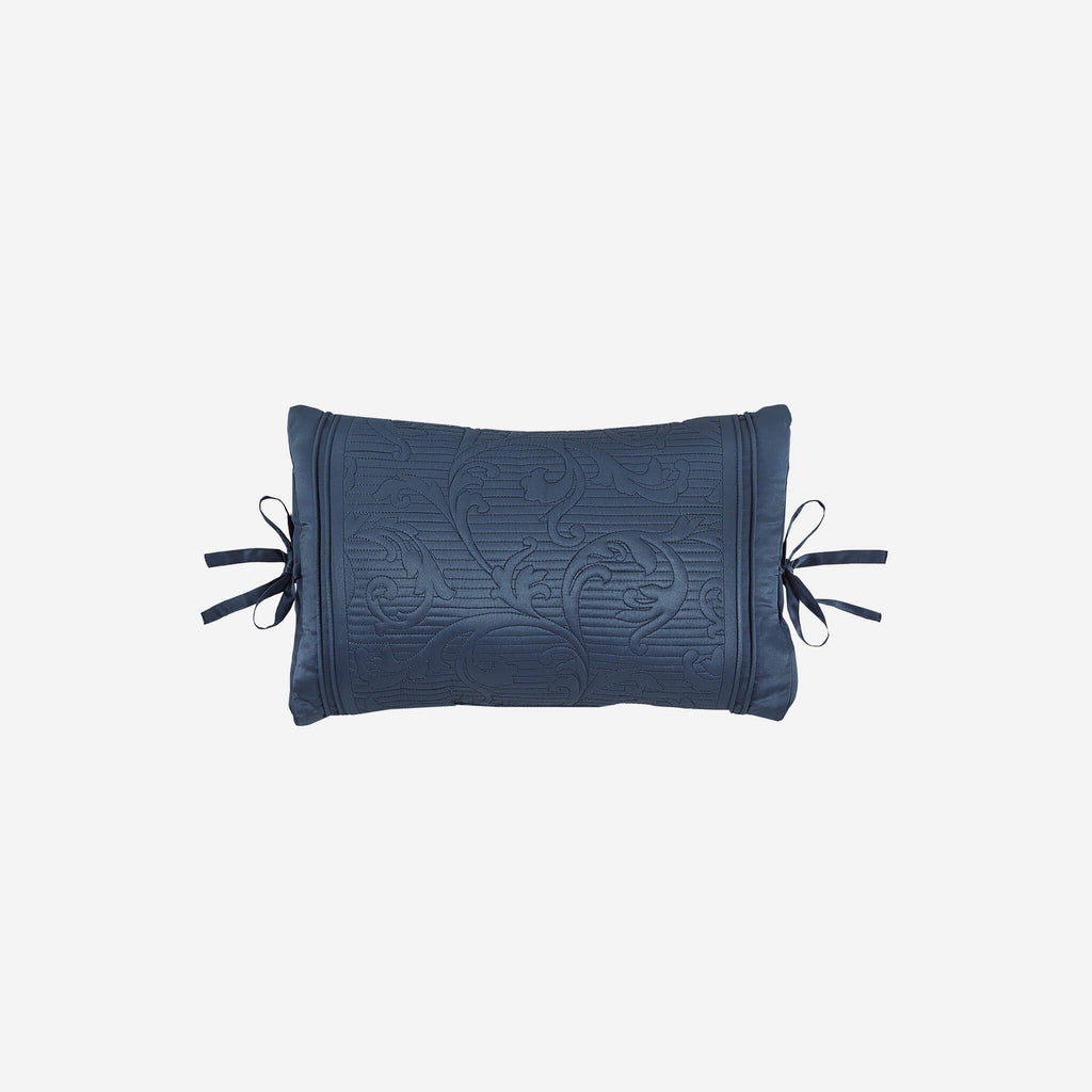 Cosette Dark Blue Boudoir Pillow