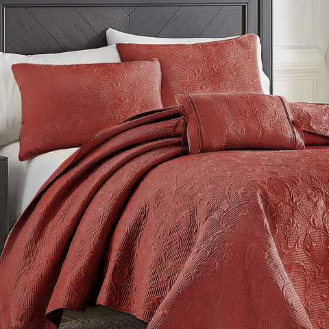 Cosette Red Quilt Collection