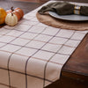Delilah Plaid Table Runner