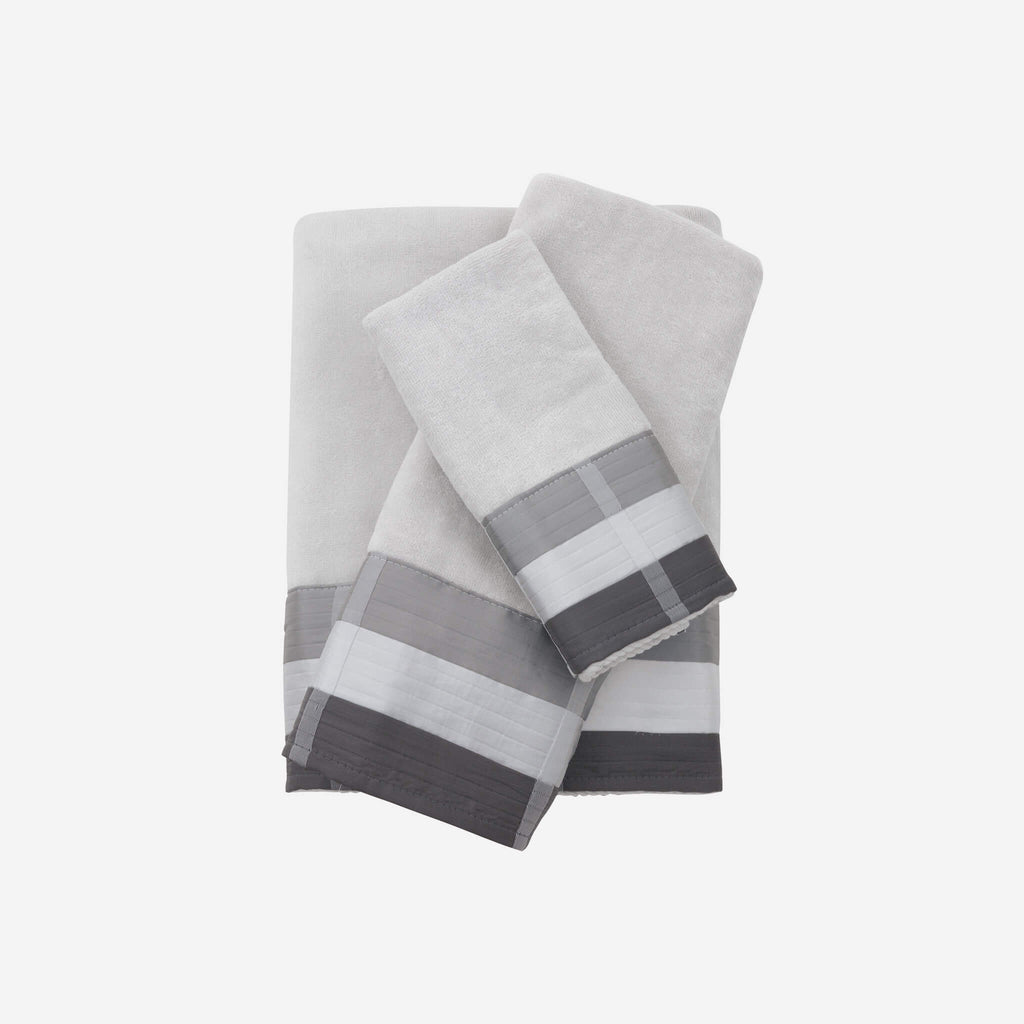 Fairfax Black Hand Towel