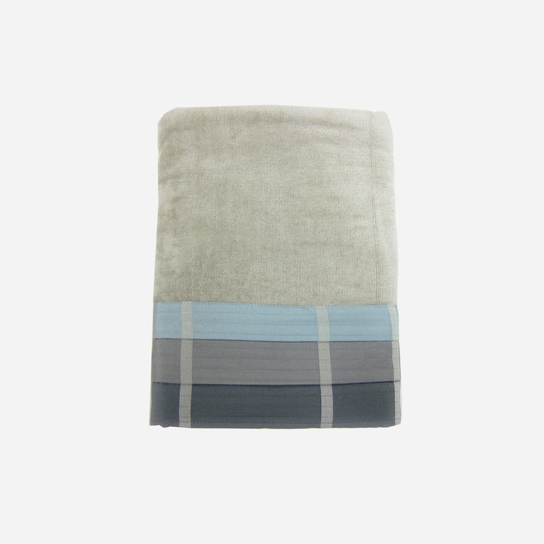 Fairfax Slate Bath Towel