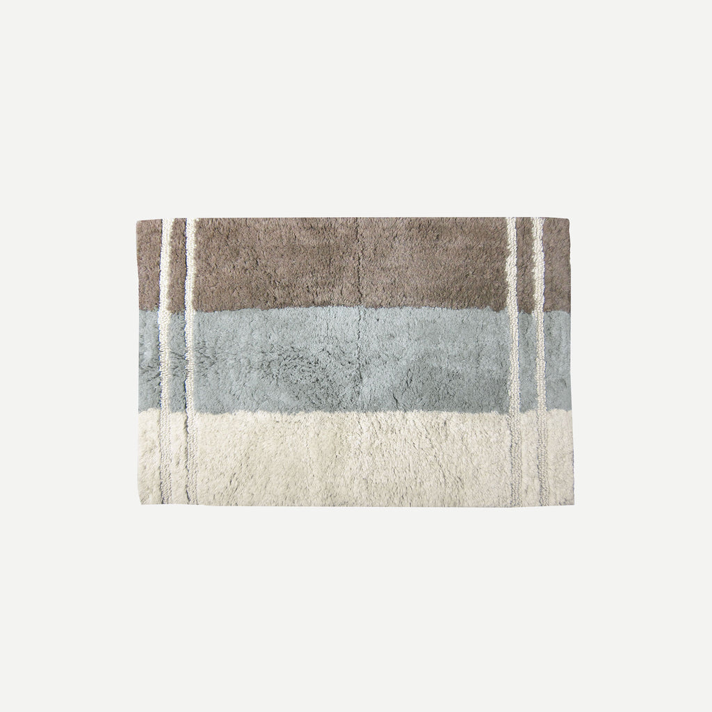 Fairfax Taupe Bath Rug