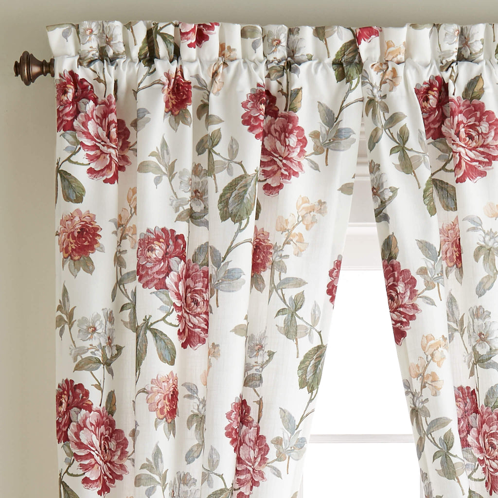 Fleur Curtain Panel Pair