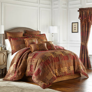 Galleria Red Comforter Set