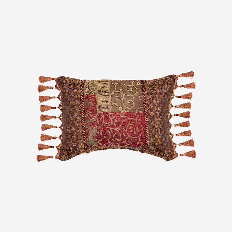 Galleria Red Boudoir Pillow