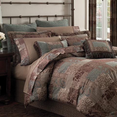 Galleria Brown Bedding Collection