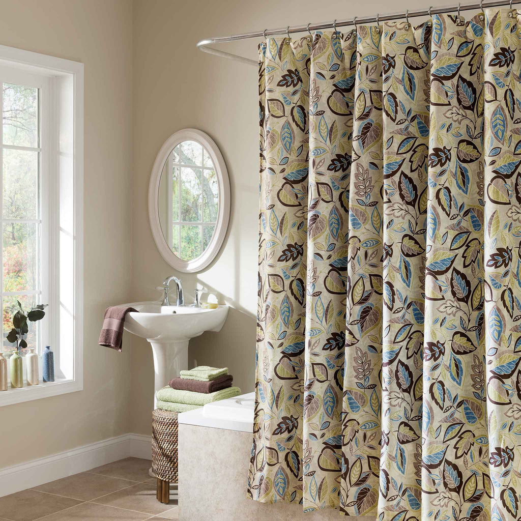 Jacobean Leaf Shower Curtain