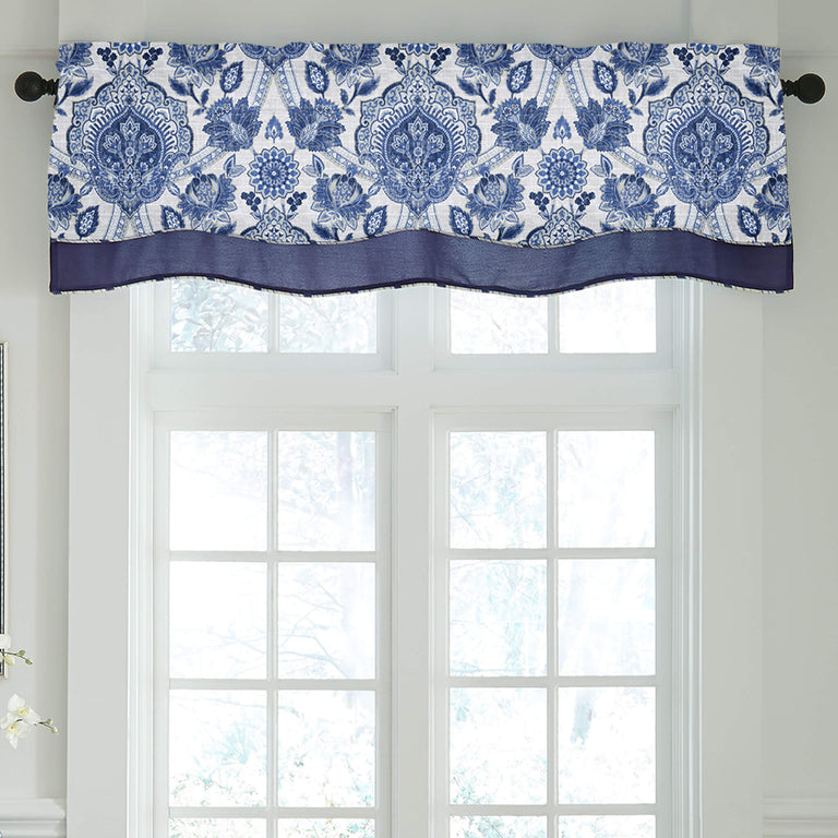 Leland Layered Scallop Valance