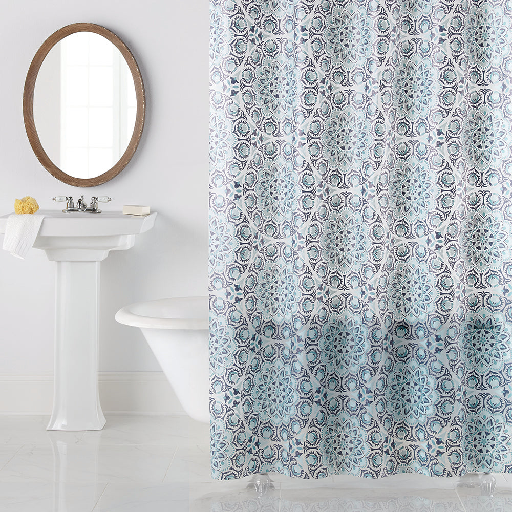 Leyah PEVA Shower Curtain by Excell
