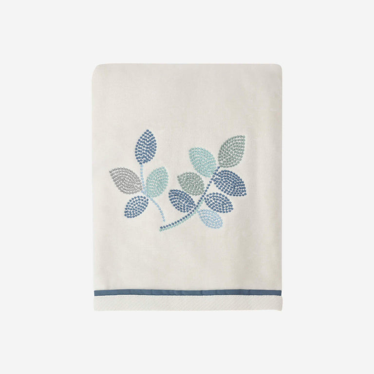 Mosaic Leaves Spa Bath Towel