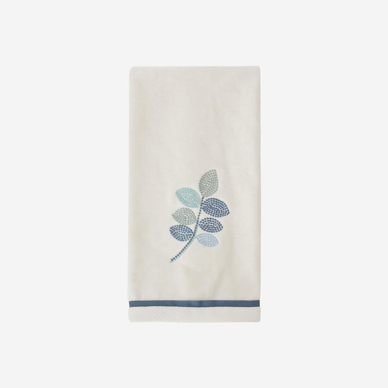 Mosaic Leaves Spa Hand Towel